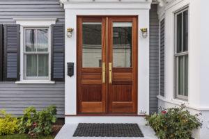 Beautiful new entry door