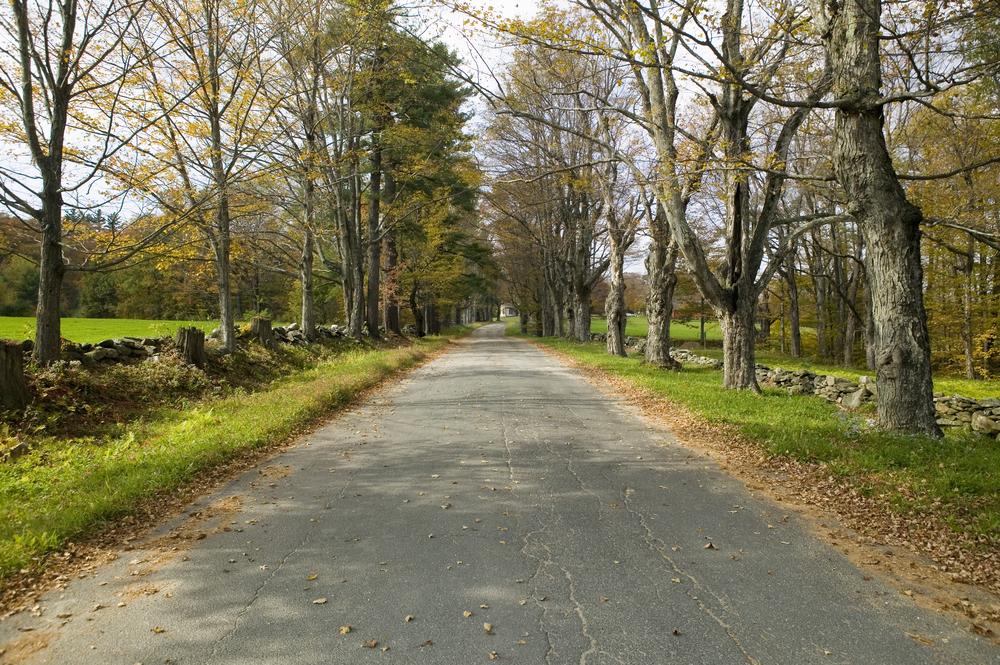 Rural Massachusetts Street