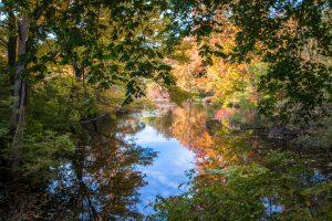 Rural Massachusetts Lake