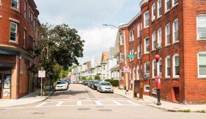 Dorchester, MA street