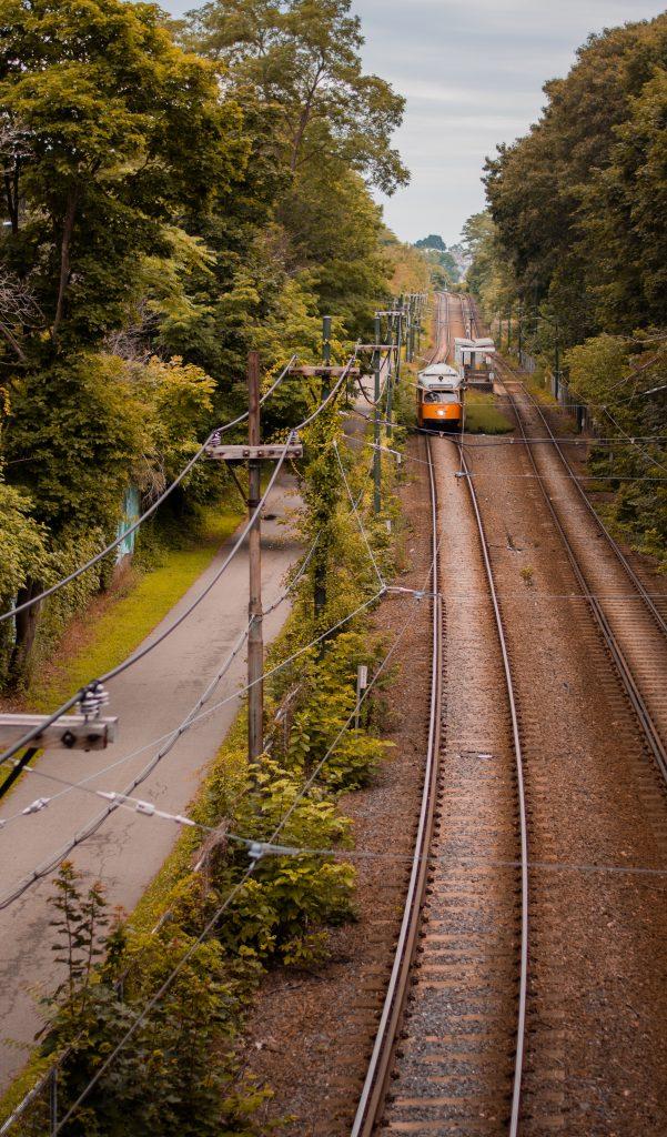 Milton, MA train tracks