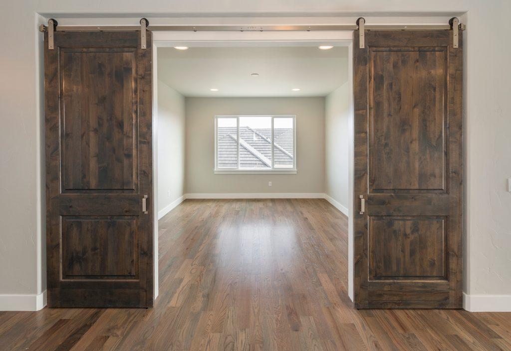 sliding wooden doors inside home
